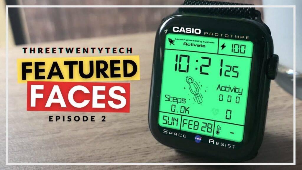 Casio Prototype Space Resist Watch